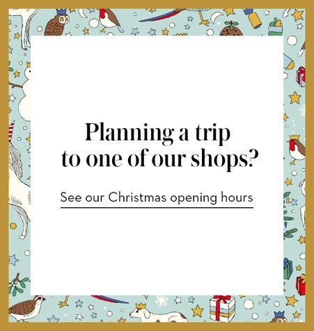 Our shops Christmas opening hours