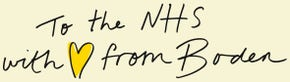 To the NHS with love from Boden