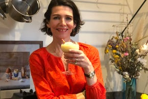 At-home cocktail hour with Thomasina Miers