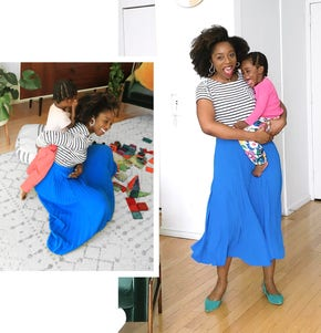 An image of Chinny Ogbuagu with her child