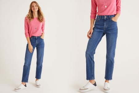 Shop Slim Straight Jeans