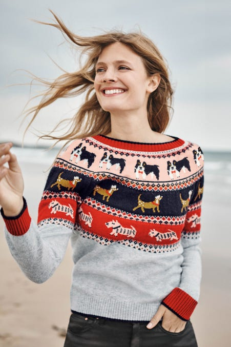 Christmas Fair Isle Jumper part of our Festivewear for Women