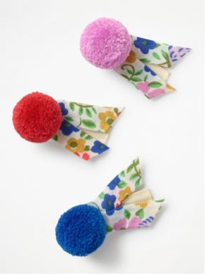 3 Pack Jolly Floral Hair Clips