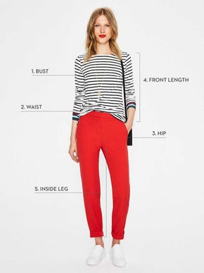 Women's size and fit chart | Boden